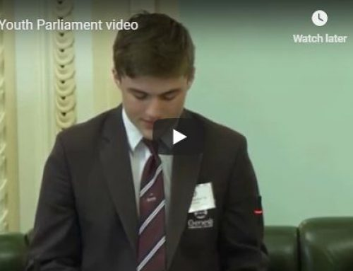 Genesis Represents at Youth Parliament